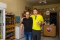Fotka s Giorgosem na památku! Dostal jsem od něj ruskou zmrzlinu :)