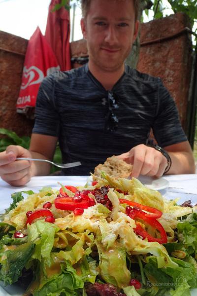 na tak luxusní salát budeme dlouho vzpomínat :)