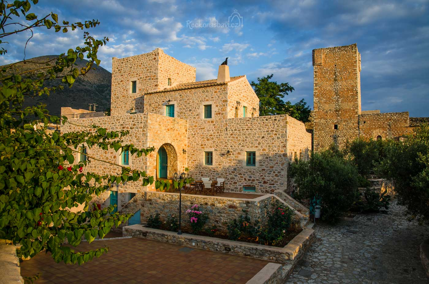 naše další ubytování Pandora ve vesniciCharia (Χαριά)