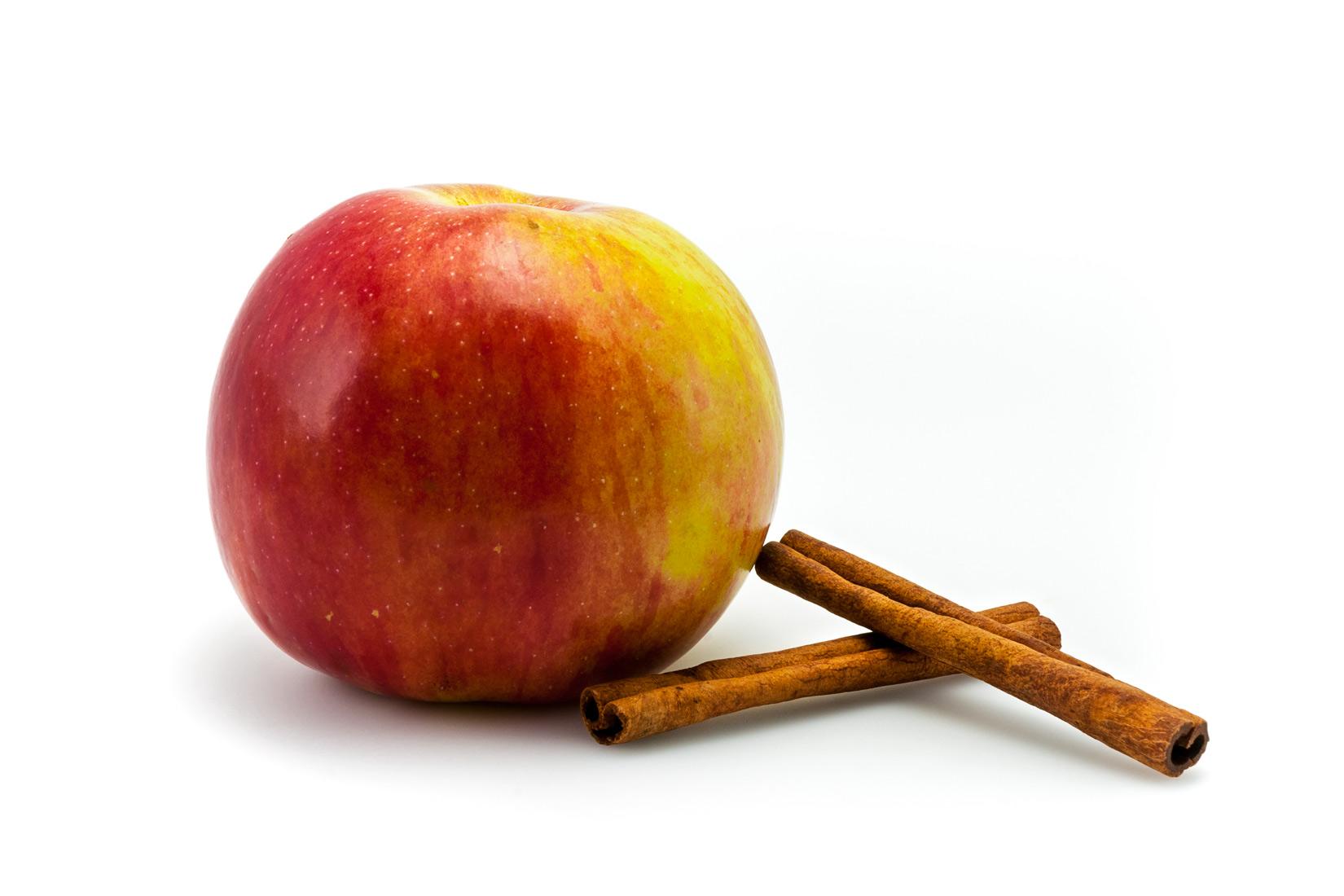 Jablíčko a skořice - základní chutě milopity