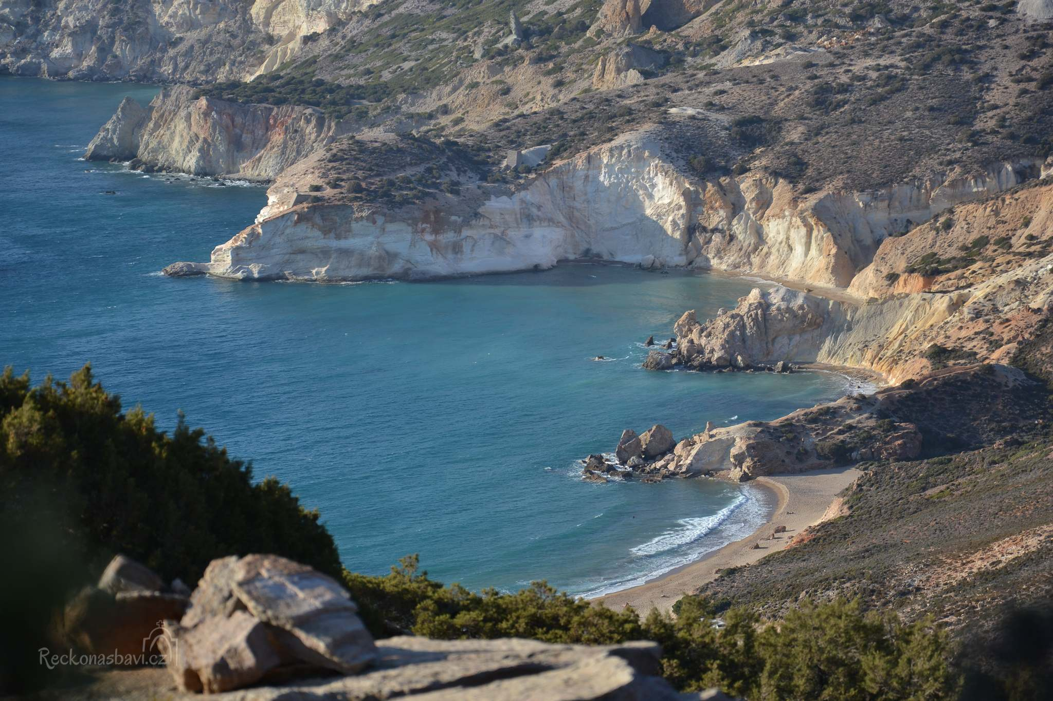 pláž Agias Ioannis