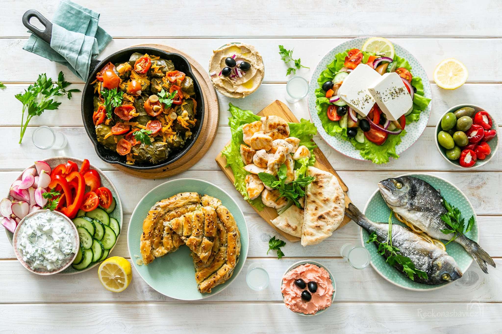 Řecká kuchyně nás baví!