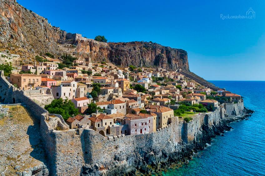 """Monemvasia je přezdívaná jako """"Gibraltar východu"""""""