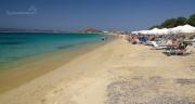 pláž Aghios Prokopios nedaleko oblíbeného letoviska Aghia Anna