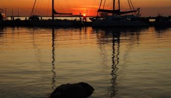 za západy slunce budete jezdit do Chory klidně každý den ;) (foto: Radek66)