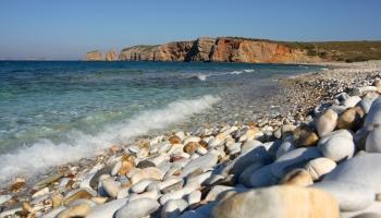 paralia Azala - oblázkový ráj na východě kde si možná dopřejete plavkám ZDAR! (foto: Radek66)