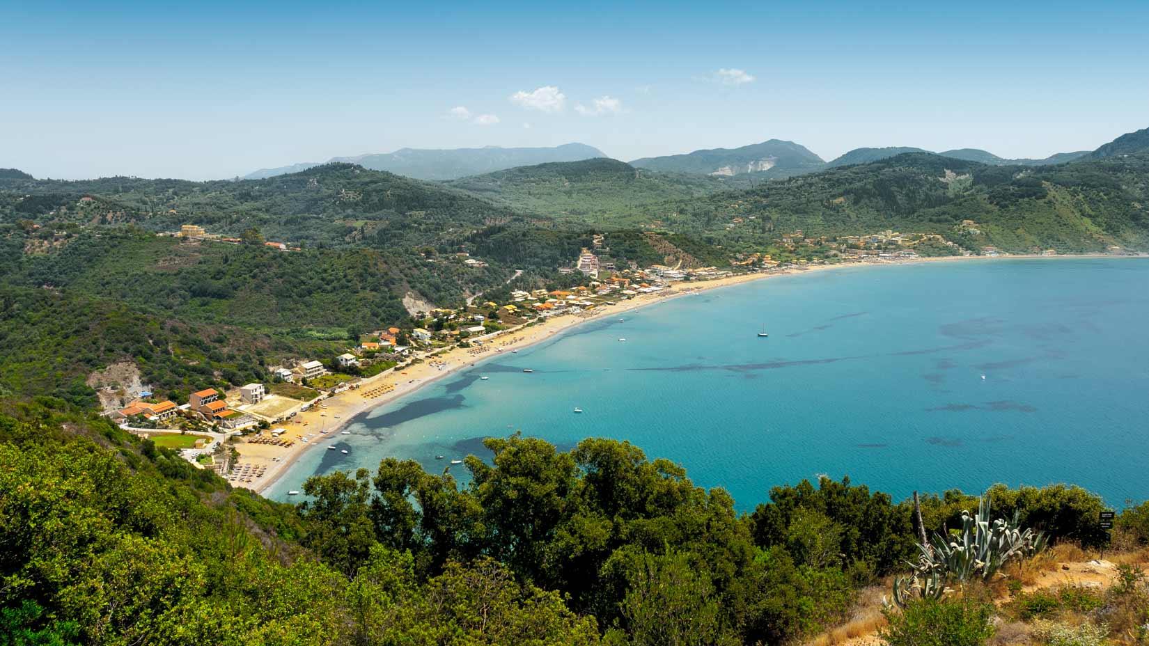 Letovisko Agios Georgios Pagon