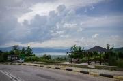 První krásná vyhlídka na Prespanská jezera, kterou při odbočení z hlavní silnice určitě neminete :)