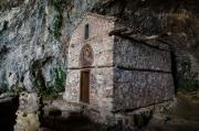 Panagia Eleoussa Hermitage je ze všech tří pousteven nejkrásnější. Je sice nejdál, ale návštěva stojí za to ...