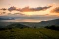... Velké Prespanské jezero a vesnice Laimos (krk) ...