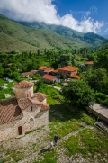 ... výhled na Agios Germanos ze zvonice ...