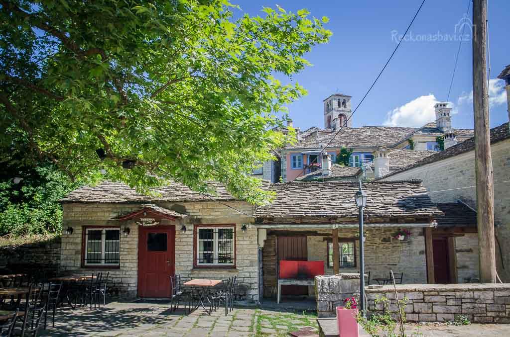 vesnice Dilofo (Zagori)