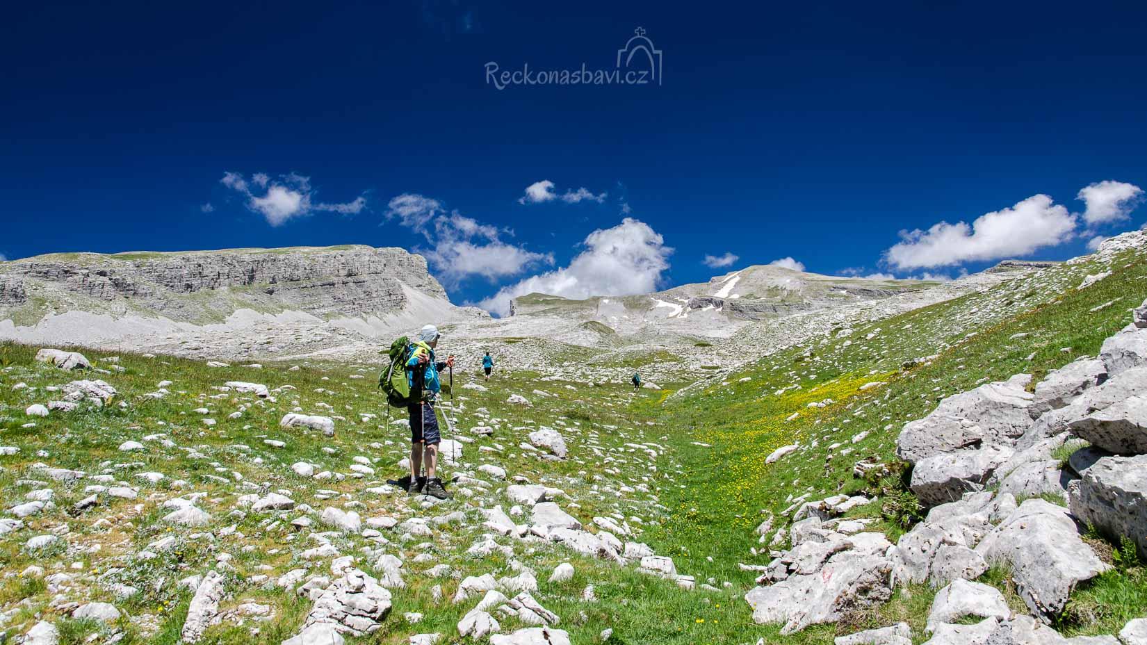 výstup na horu Gamila - nejvyšší vrchol Mt. Tymfi