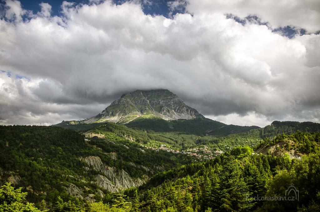 Tzoumerka - hora Strogoula, na kterou jsme si vyšlápli