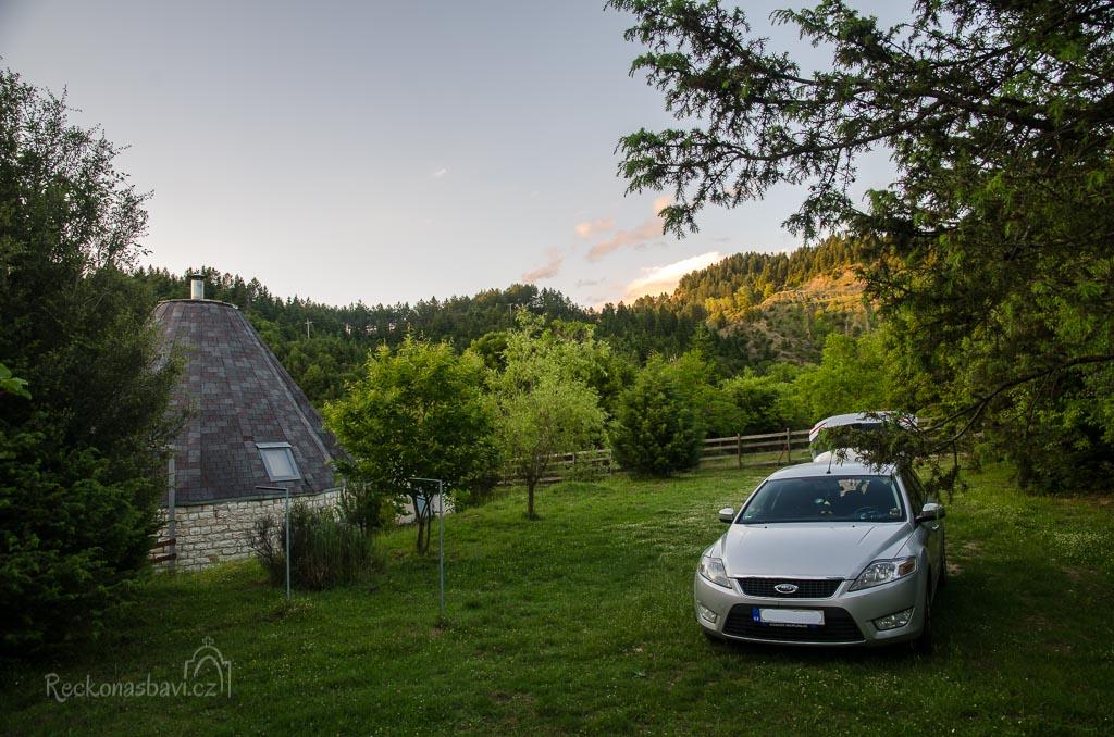 úžasné ubytování v Igloo pod Strogoulou