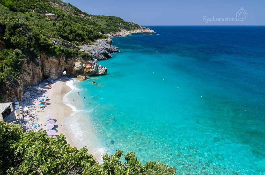poloostrov Pelion - pláž Mylopotamos
