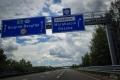 sjíždíme na OMV před hranicemi Röszke (HU) - Horgoš (SRB)