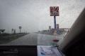 chytl nás pořádnej slejvák, na začátku Srbska je silnice samá díra a díky silnému dešti se jim nejde vyhnout