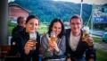 Máme dneska za sebou 998km. Zasloužený pivko v Predejane (Srbsko)