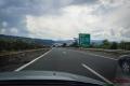 řecká dálnice Egnatia Odos u města Veria