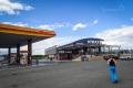 jedna z mála benzinek na Egnatia Odos - Shell Strata
