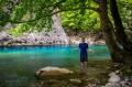 řeka Voidomatis (4°C) - jedna z nejčistčích řek Evropy