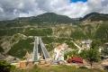 dálniční mosty Egnatia Odos u Metsovo