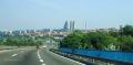 Bělehrad tentokrát projíždíme městem a je to mnohem rychlejší