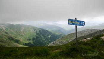 Tzoumerka - přejezd horského sedla Baros