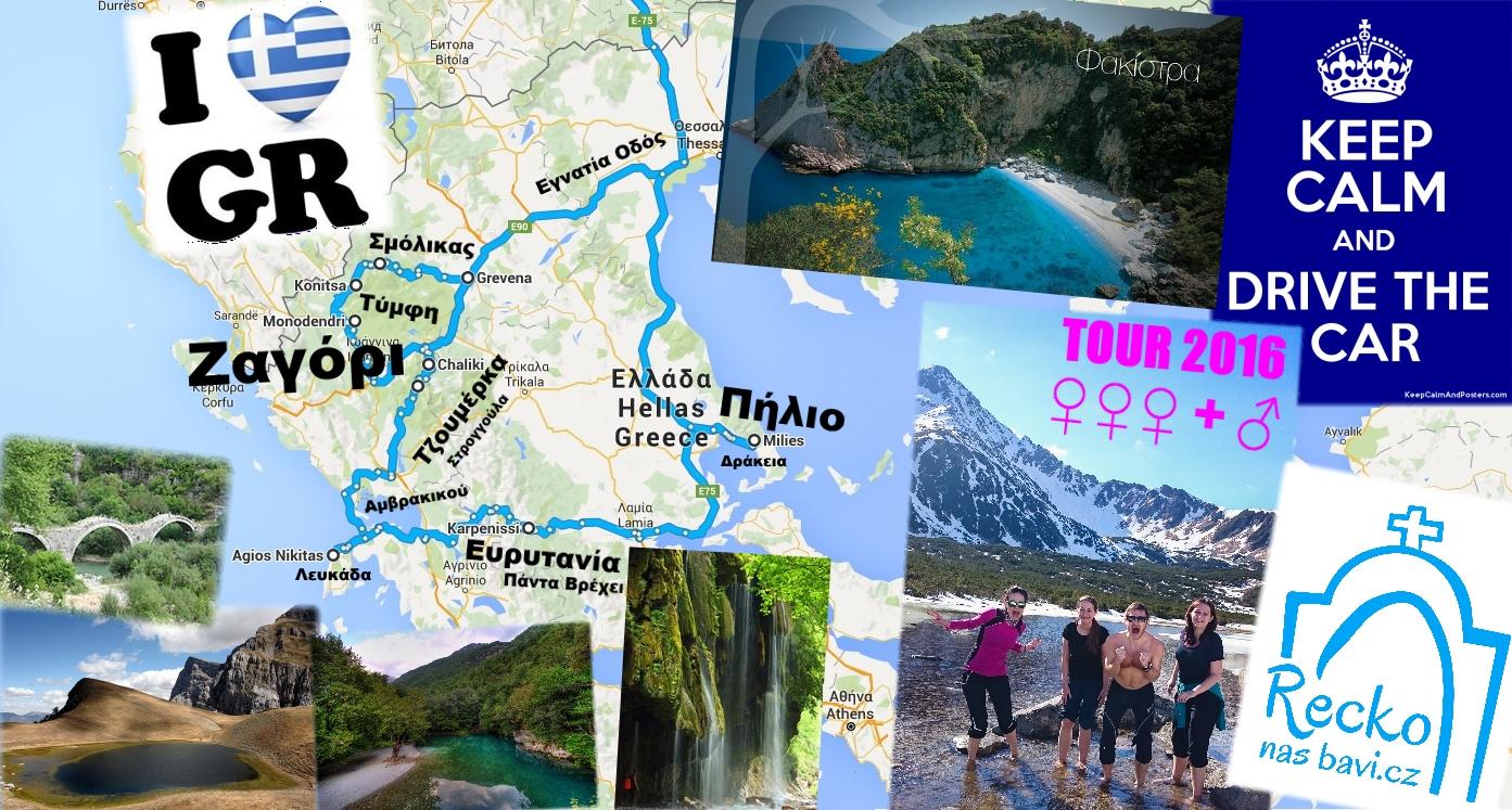 Plán naší cesty - TOUR 2016