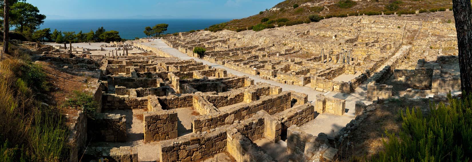 Pouze v Kameiros máte šanci poznat, jak žil antický člověk