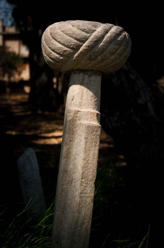 Kultovní místo všech Osmanů - hřbitov v areálu Murat Reis mešity