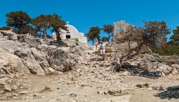 Prostranství hradu Monolithos
