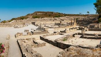 Ancient Kameiros. Jedno z nejdochovalejších center Dórské Hexapolis