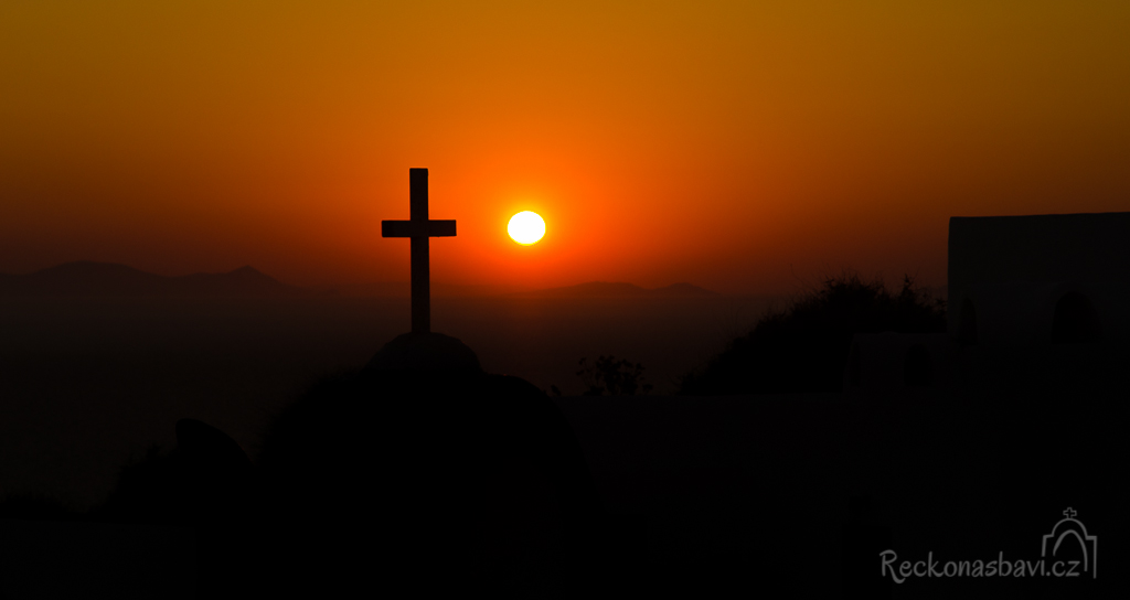 Dobrou noc Santorini