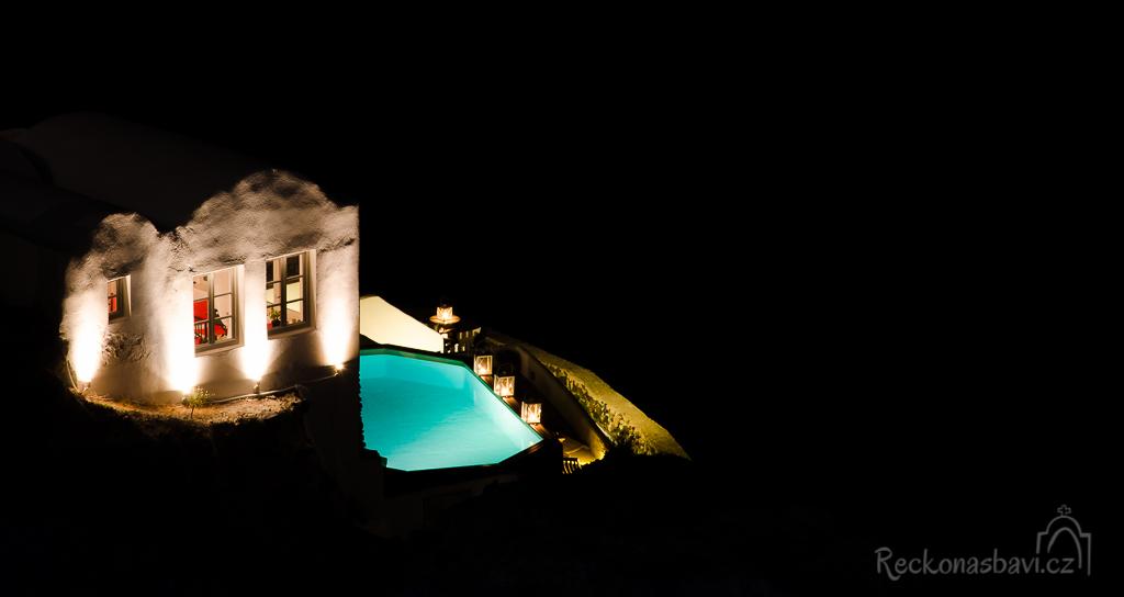 luxusní hotely v Oia