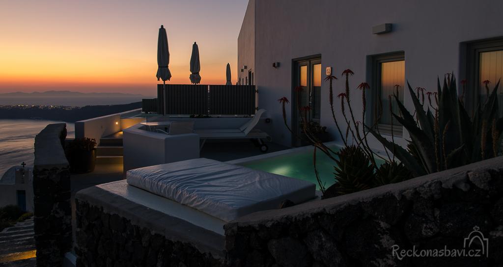 luxusní ubytování v Imerovigli