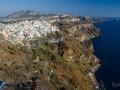 panoramatický pohled na vesnici Fira (Thira)