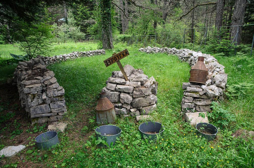 7. Στρούγκα – Strouga = místo pro dojení ovcí