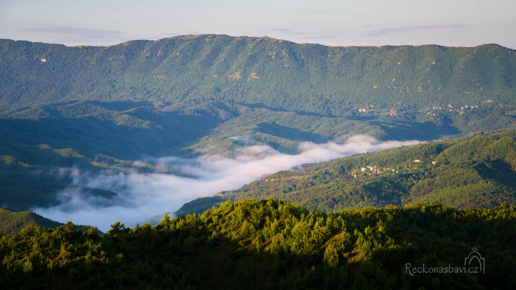 ranní mlhy - to vám byla krása