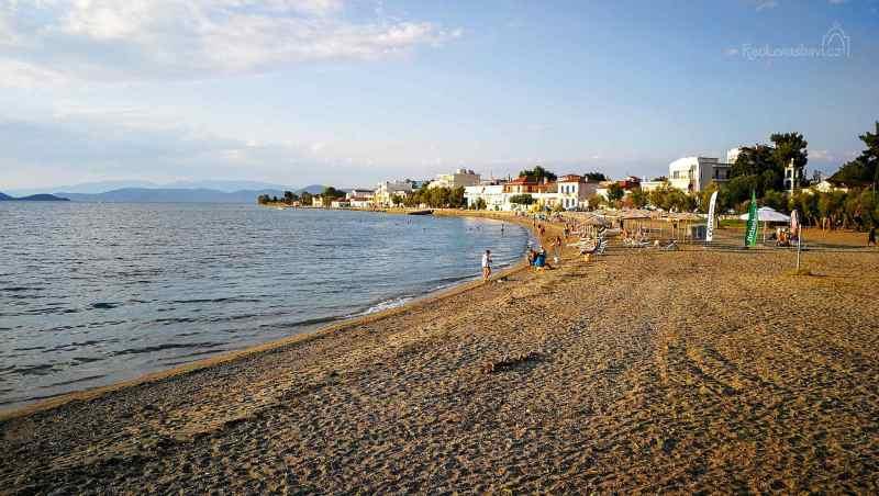 pláž v Oreio