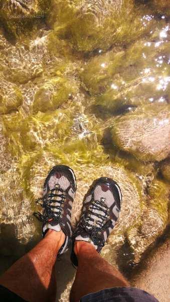 River trekking Waterfall Kremasi