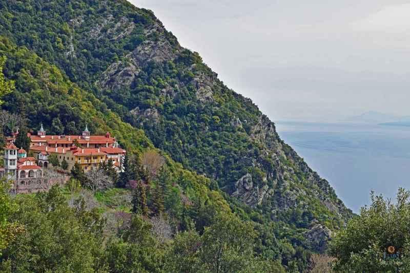 klášter Agios Georgios Ilion