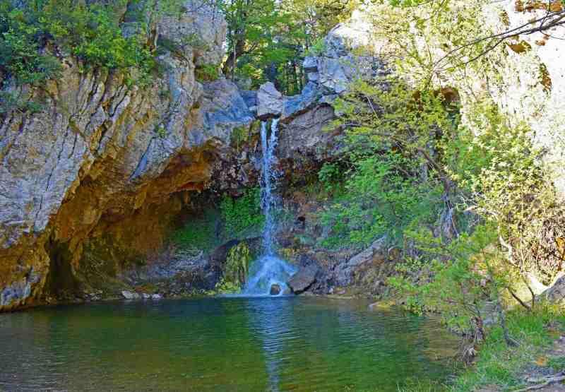 Drymona waterfalls