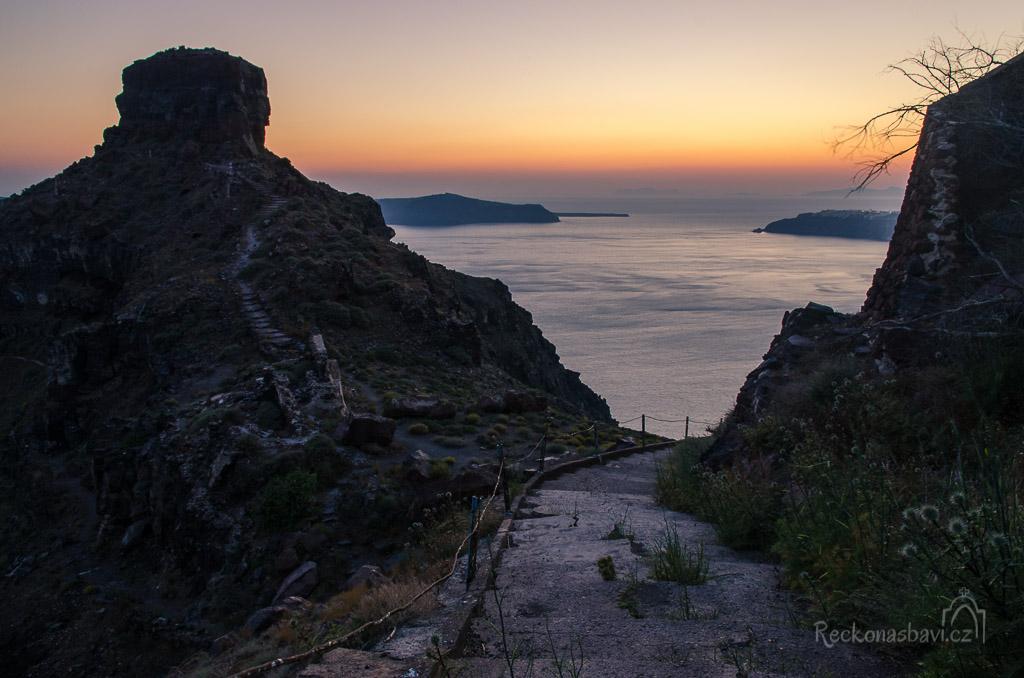 cesta na Skaros