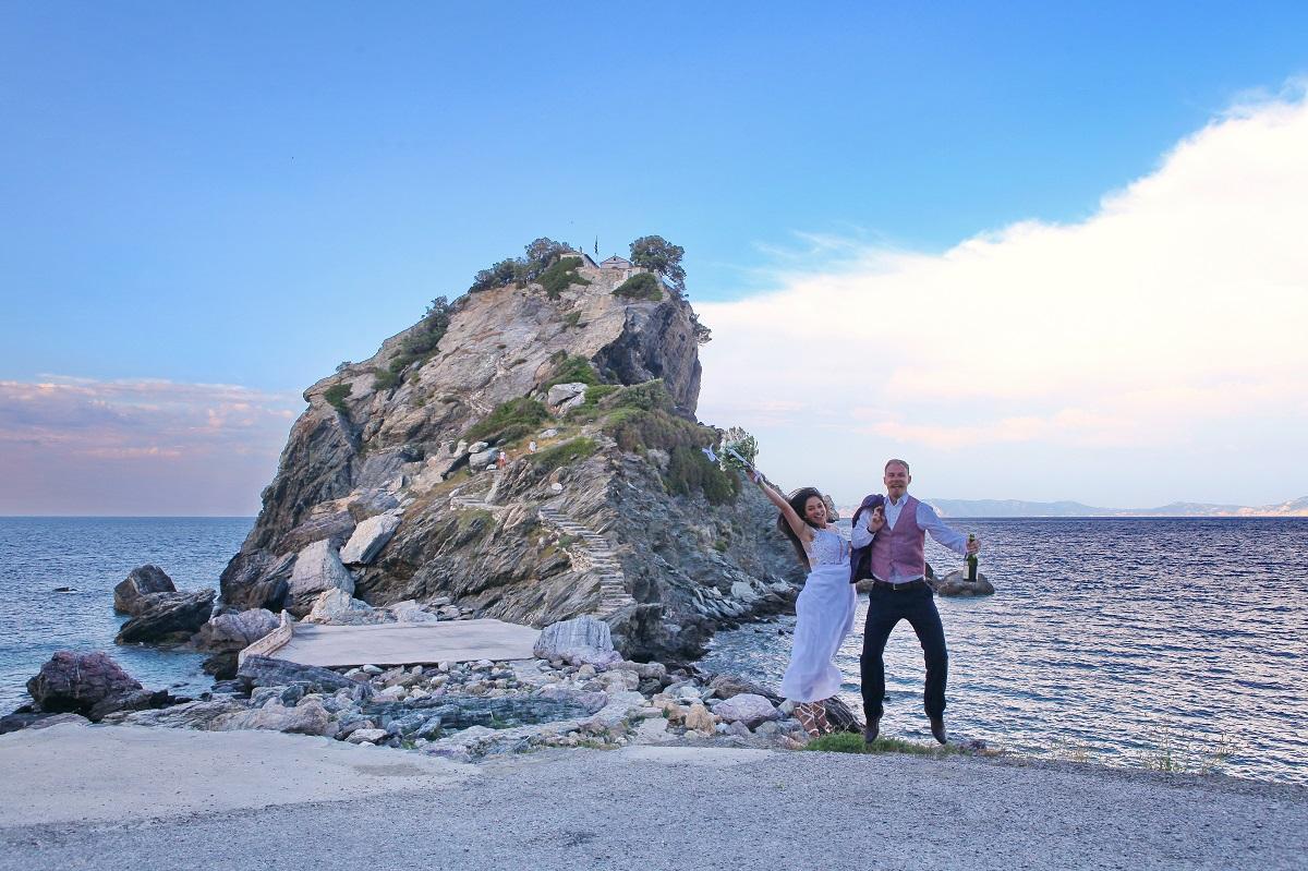 Romantických míst, která vám vyrazí dech, najdete na Skopelosu nespočet.