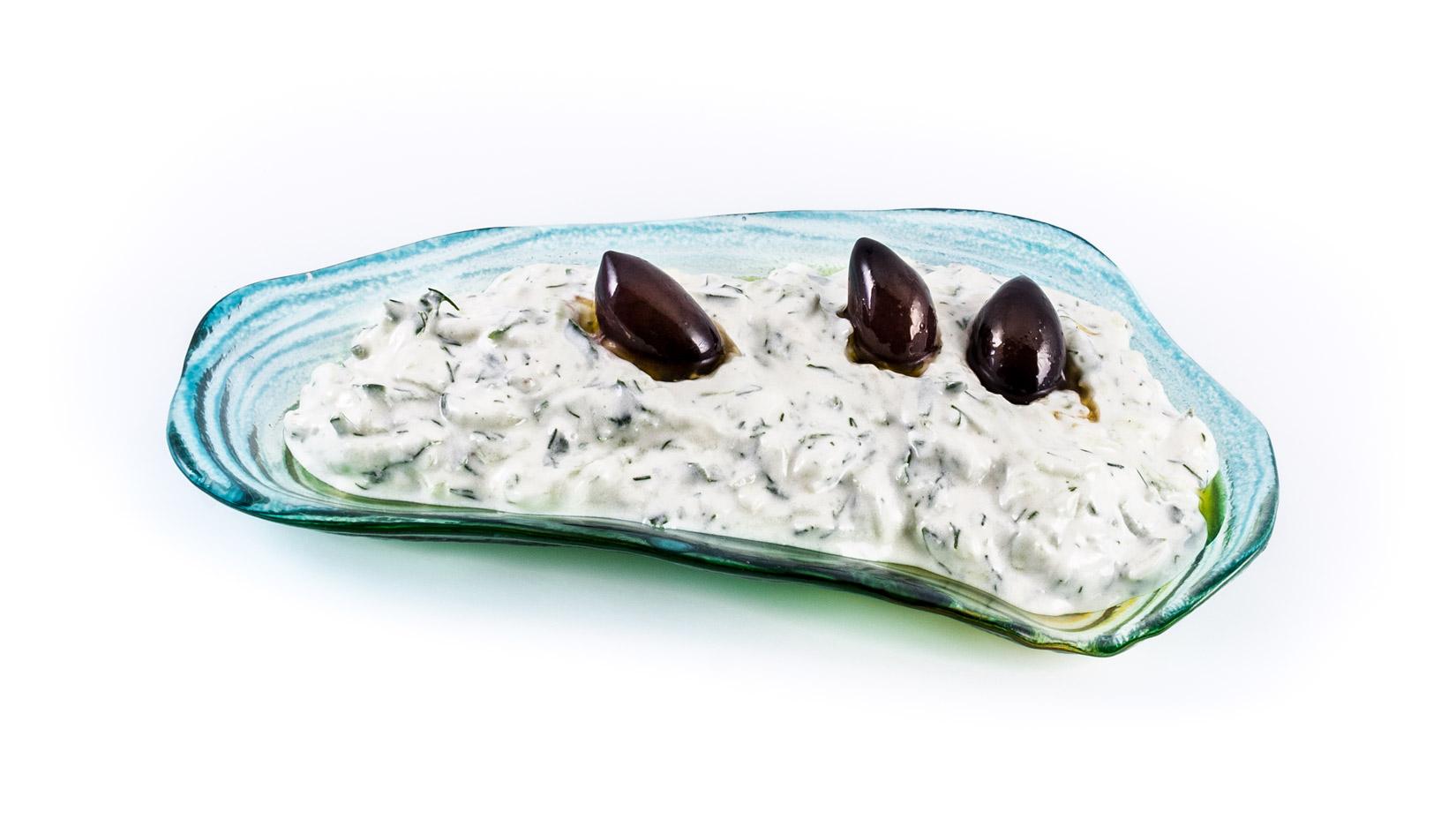 Tazatziky bez oliv by nebyly to pravé...