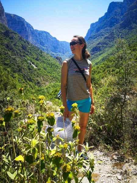Voidomatis Springs trail