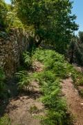 Tady je ta správná skulina v terasách, brána k osadě Xerédhon