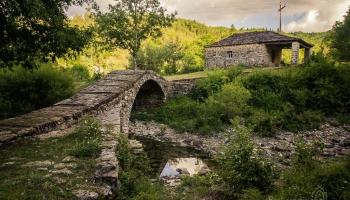 ... ještě jeden most v okolí obce Dilofo - Aghios Minas.